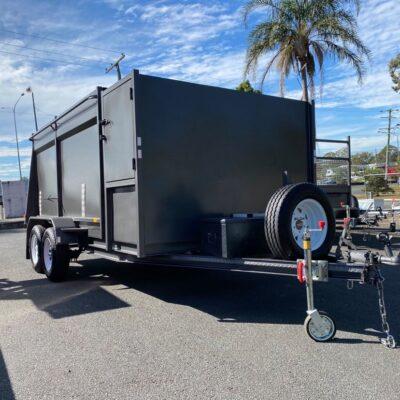 Hydraulic Tipping Mower Trailer 4