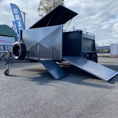 Custom Mower Trailer 2