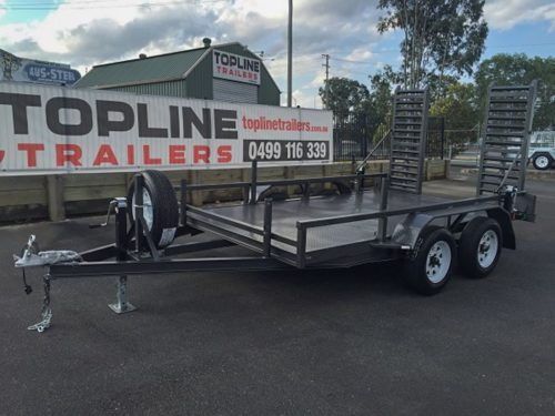 12x6 Machinery Trailer