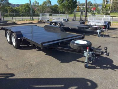 15ft 2.0t Car Trailer - Flat Deck