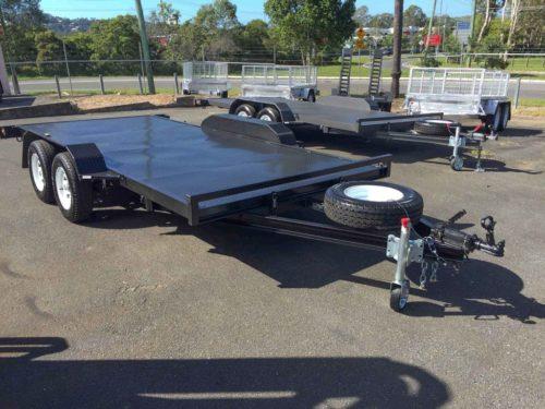 15ft 2.0t Car Trailer - Flat Deck