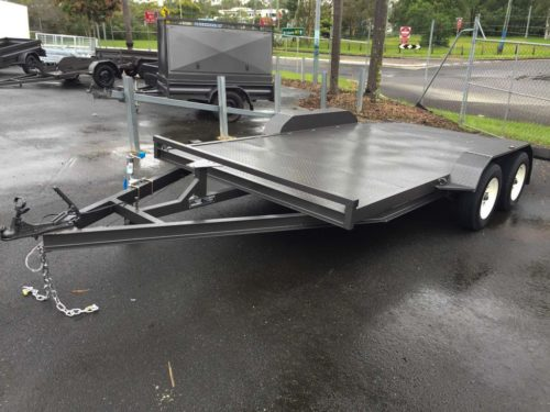 15ft 2.9t Car Trailer - Beaver Tail