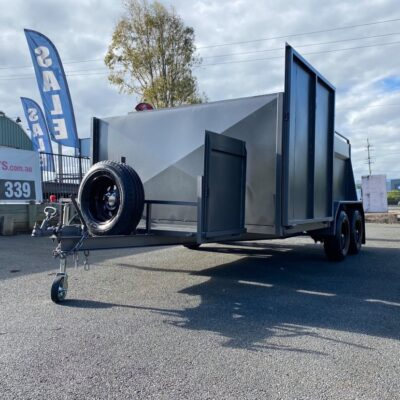 Custom Mower Trailer 1