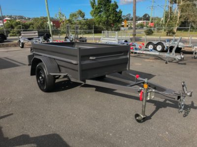 7x4 Box Trailer - High Side