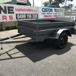 7x4 Box Trailer Hire