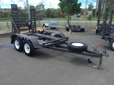 8x5 machinery trailer