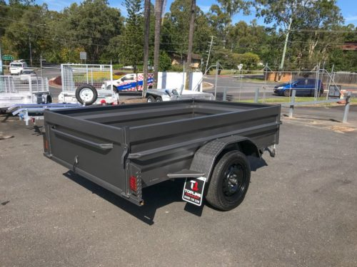8x5 Box Trailer - High Side 2