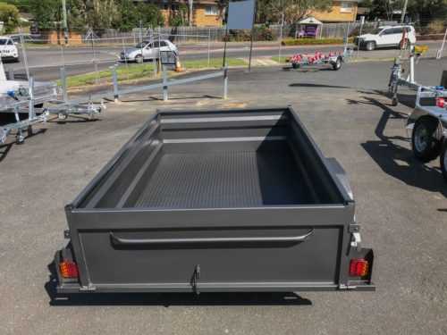 8x5 Box Trailer - High Side 4