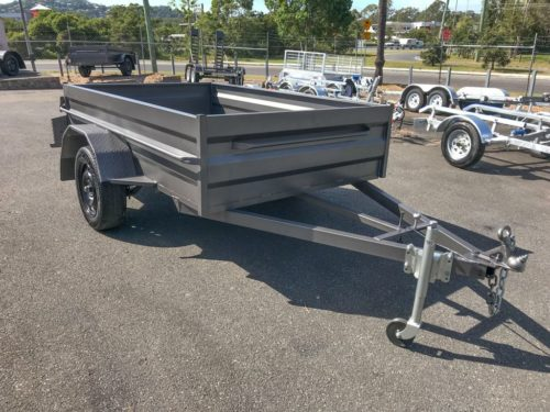 8x5 Box Trailer - High Side