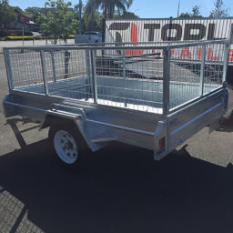 8x5 Caged Box Trailer Hire