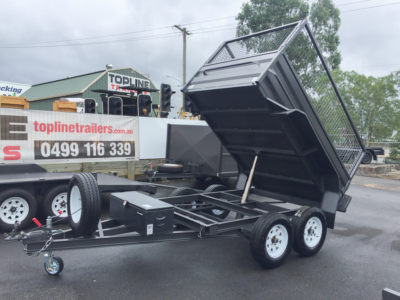 8x5 Hydraulic Tipper Trailer