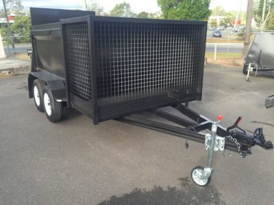 8x5 Push Lawn Mower Trailer