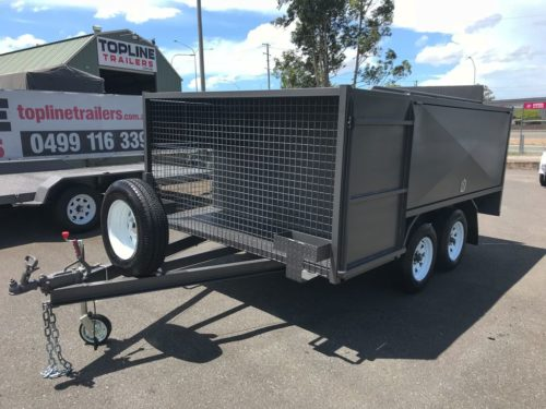8x5 Ride On Mower Trailer