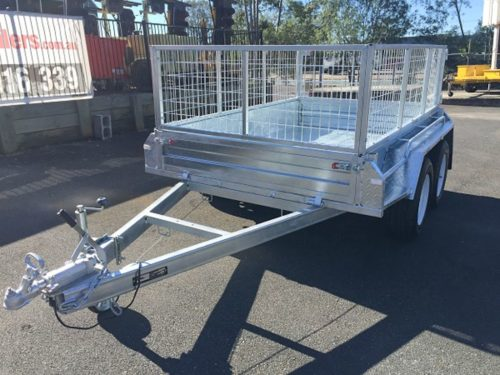 8x5 Tandem Galvanised Box Trailer