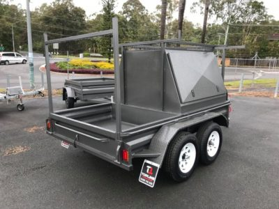 custom 9x5 Half Builders Trailer