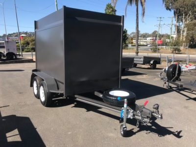 custom 8x5 enclosed trailer