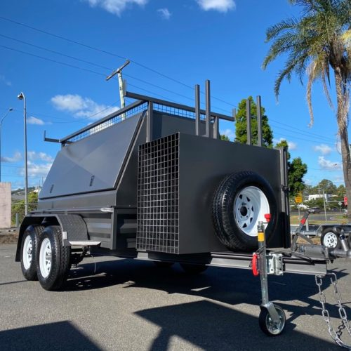 custom 2t builders trailer