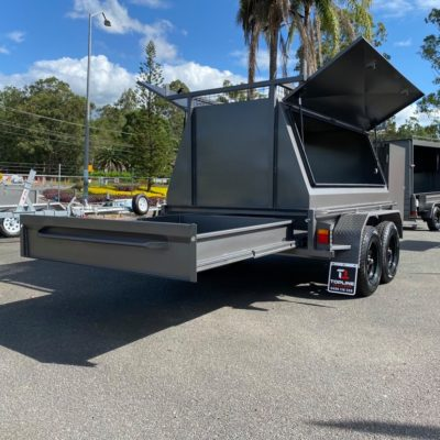 custom 8x5 builders trailer