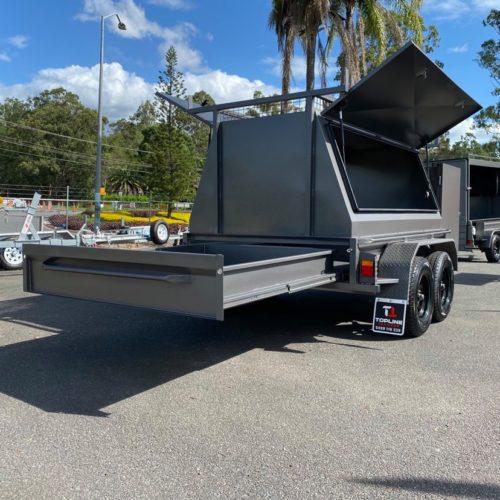 custom 8x5 builders trailer
