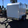 Custom aluminium composite paneling trailer