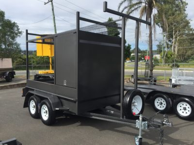 custom 9x5 box trailer