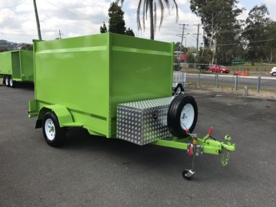 Custom Colour Painted Trailer