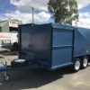 8x5 Front Double Enclosed Push Lawn Mower Trailer