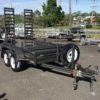 Custom Small Machinery Trailer