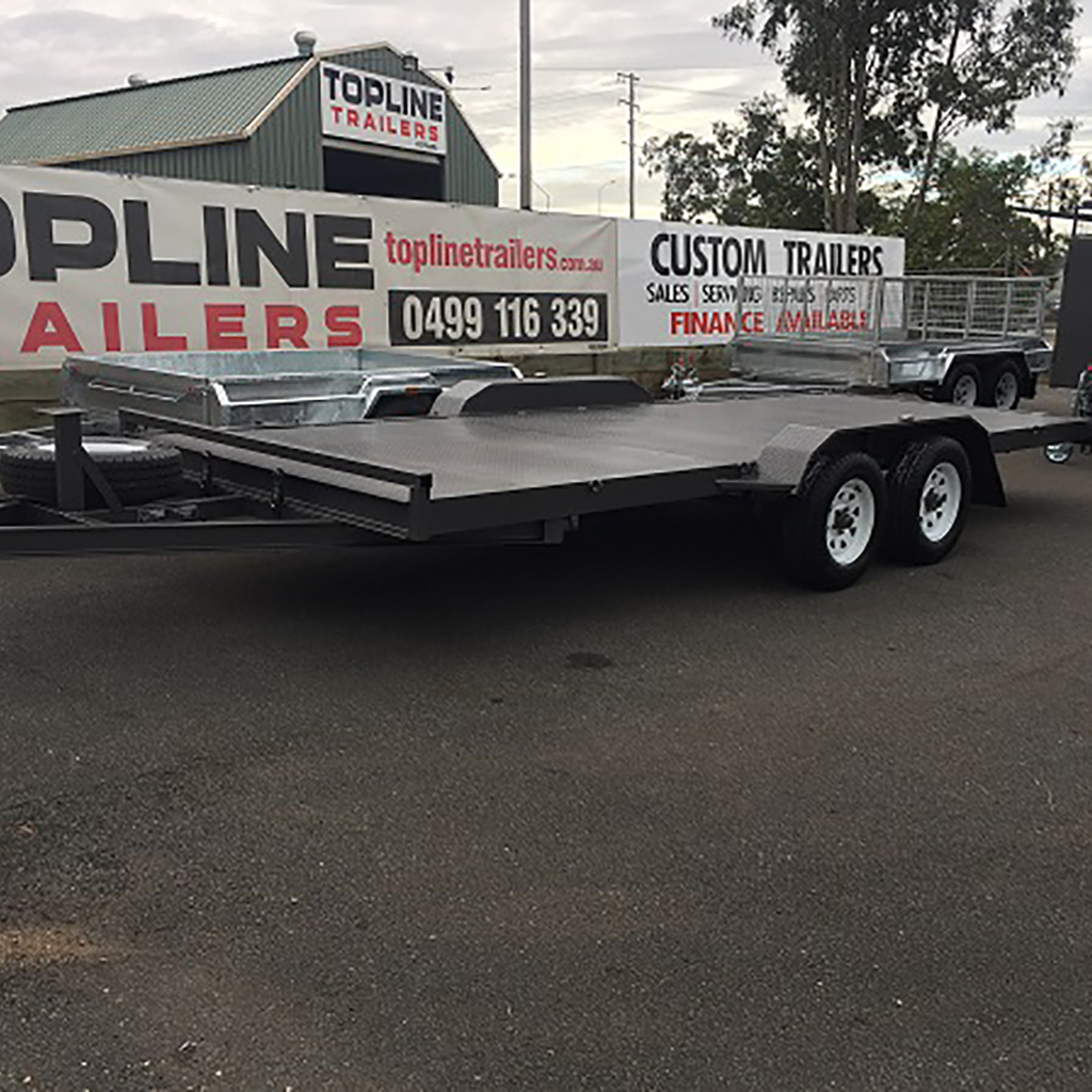 Car Trailer Hire Logan Includes Ramps Book Today Topline Trailers
