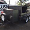 custom box/builders trailer