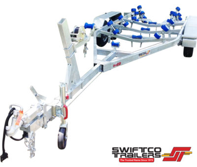 Swiftco 6 Metre Boat Trailer Wobble Rollers
