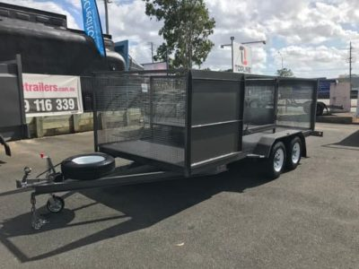Custom Cage Machinery Trailer
