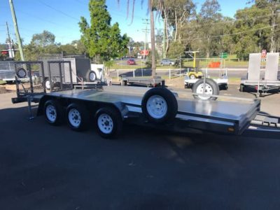 Custom 6mx2m Machinery Trailer