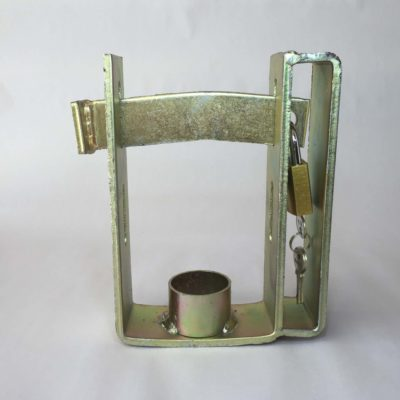 Trailer Coupling Lock - 40mm, Brass